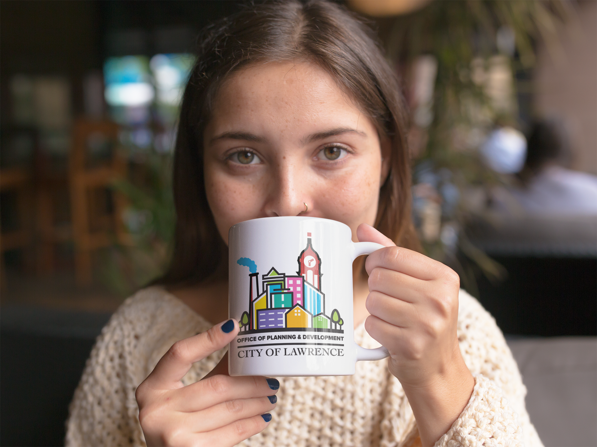 Left-Eye-Creations-City-Lawerence-mug-mockup-of-a-beautiful-girl-drinking-a-hot-beverage-a11943.png